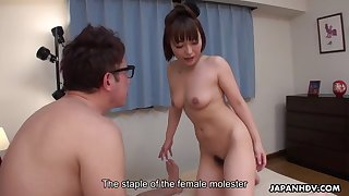 japanese secretary, yui ayana is secretly fucking her boss